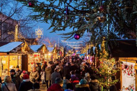 Weihnachstsmarkt Blumengärten Hirschstetten